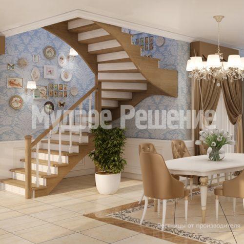 Деревянная лестница-2