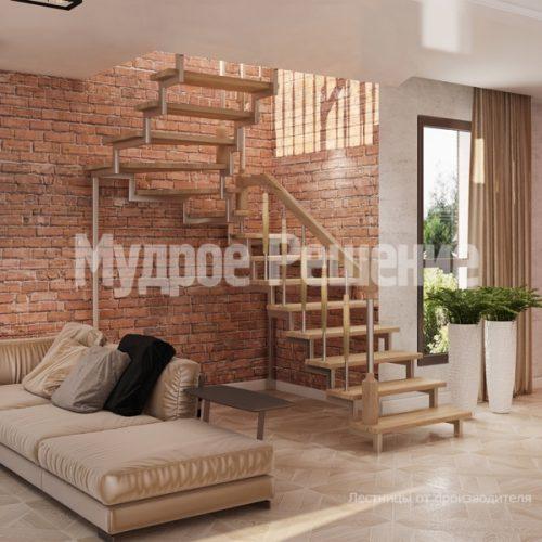 Металлическая лестница-2