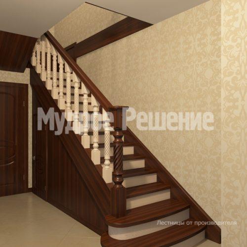Деревянная лестница-10