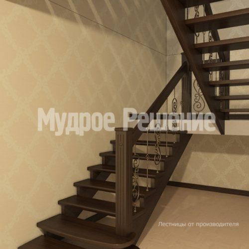 Деревянная лестница-29