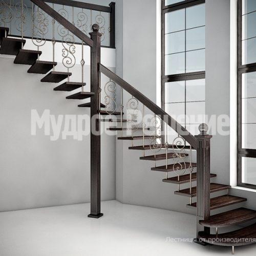 Лестница на больцах-6