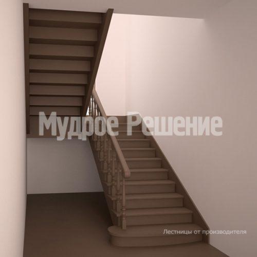 Деревянная лестница-67