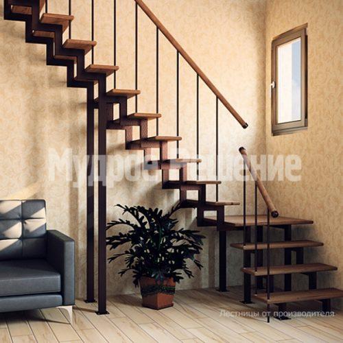 Металлическая лестница-10