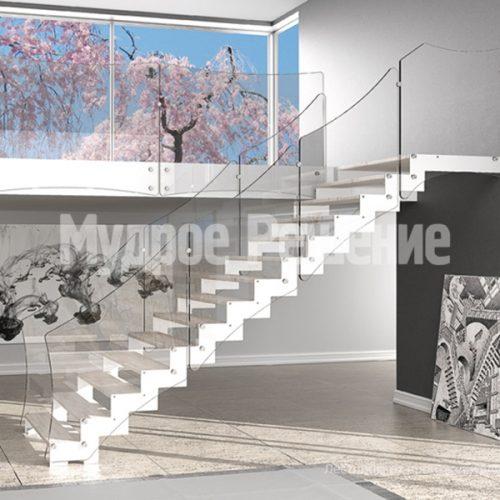 Металлическая лестница-14