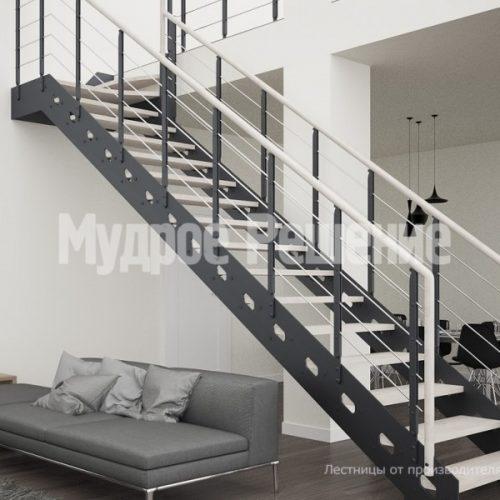 Металлическая лестница-18