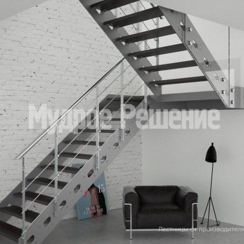 Металлическая лестница-19
