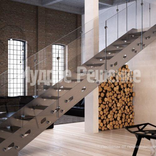 Металлическая лестница-20