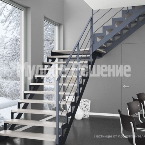 Металлическая лестница-23