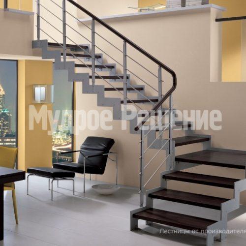 Металлическая лестница-28