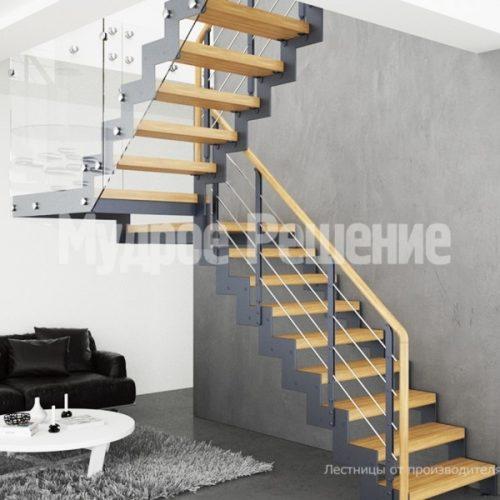 Металлическая лестница-37